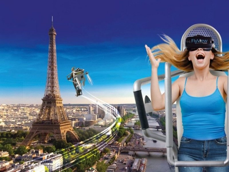 Newest for 2019: discover Paris thanks to the virtual reality!