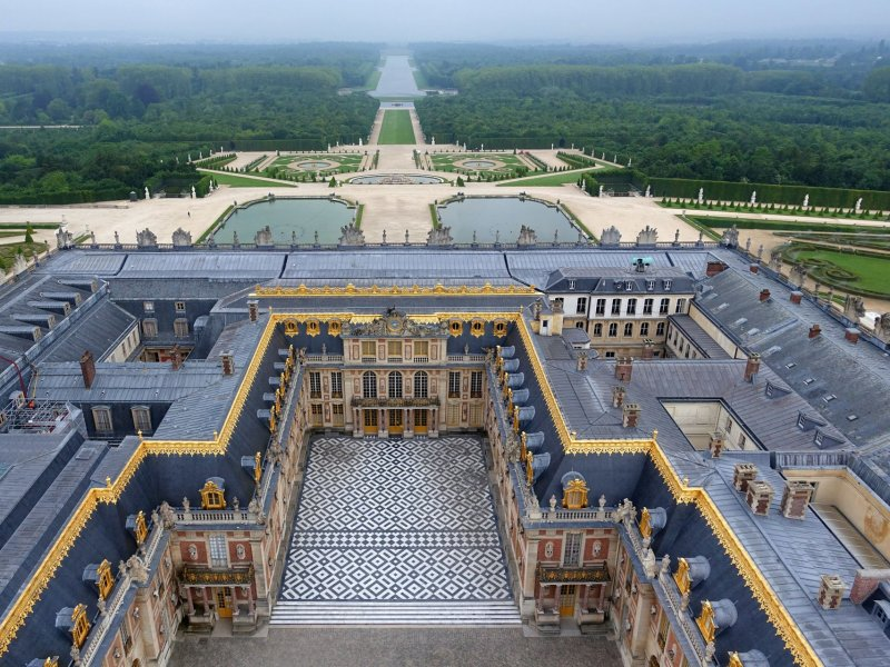 One day in Versailles